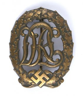 German Wwii Drl Sports Badge