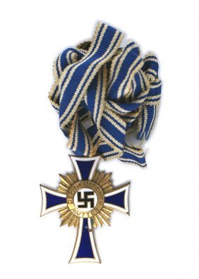 German Wwii Mothers Cross Gold