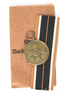 German Wwii War Merit Medal