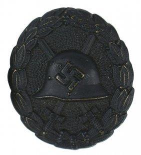 German Wwii Spanish Wound Badge Black