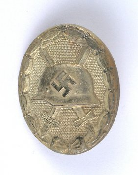 German Wwii Wound Badge Silver