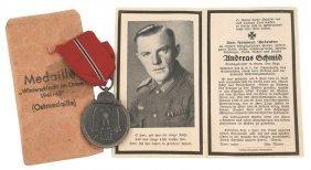 German Wwii Eastern Front Medal