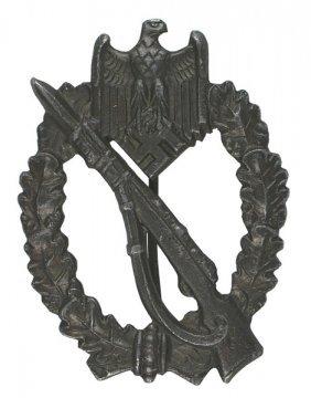 German Wwii Infantry Assault Badge Bronze