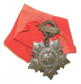Lot Of 2 U.s. Medals New York Tiffany