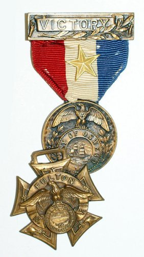 Lot Of 4 U.s. Wwi Service Medals
