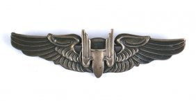 U.s. Wwii Aerial Gunner Wings