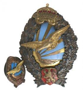 Bulgarian 1935-1944 Pilot Badge