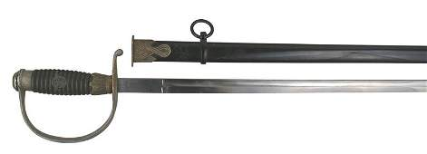 German WWII Police EM sword