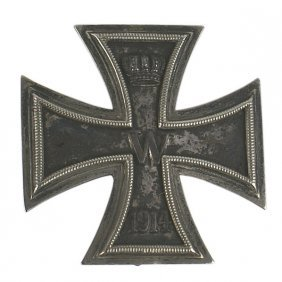 German 1914 1st Class Iron Cross Presented