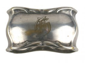 Adolf Hitler Personal Service Napkin Ring