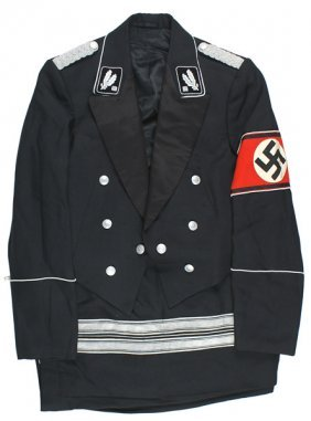 German Wwii Ss-bridagefuhrer Uniform Dr. Leo Gotzmann