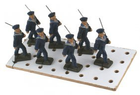 German Wwii Lineol Navy Toy Soldiers