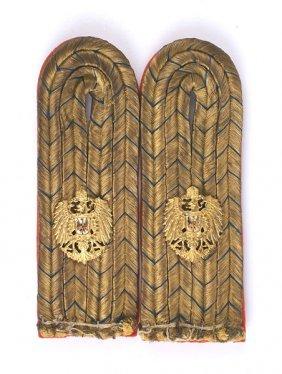 German Colonial East Asia Shoulder Boards