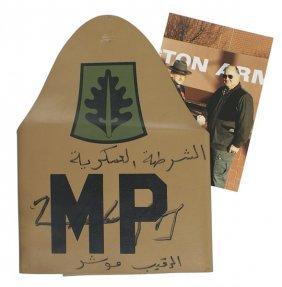 U.s. Mp Desert Storm Armband Signed Schwarzkopf
