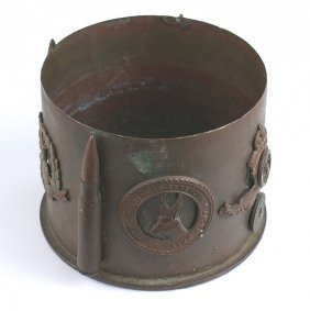British Wwi Artillery Shell Casing