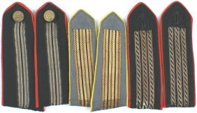 Lot Of 3 Pairs Italian Wwii Shoulder Boards
