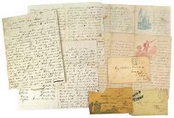 Archive of 53 Civil War letters