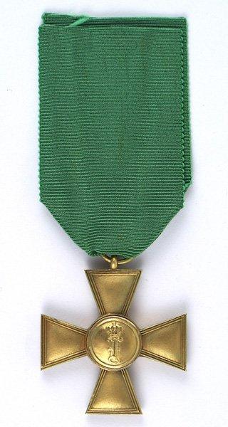 German Anhalt Long Service Cross 1st Class
