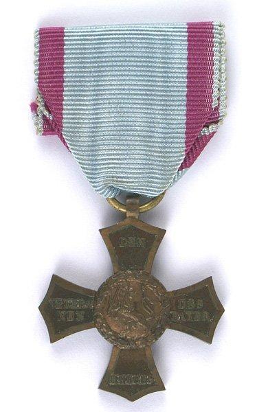 Bavarian Veterans Cross medal