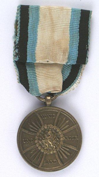 Bavarian Military Remembrance Medal