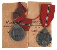 Two German WWII Eastern Front Medals