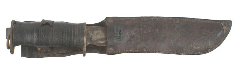 U.S. WWII combat knife WATERMAN