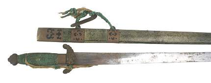 Traditional type Chinese sword