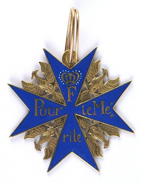 Imperial German Pour le Merite medal