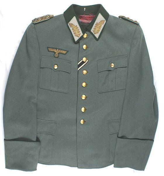 German WWII tunic of Army Administrative General