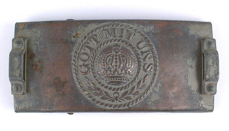 German WWI Telegraph Unit belt buckle