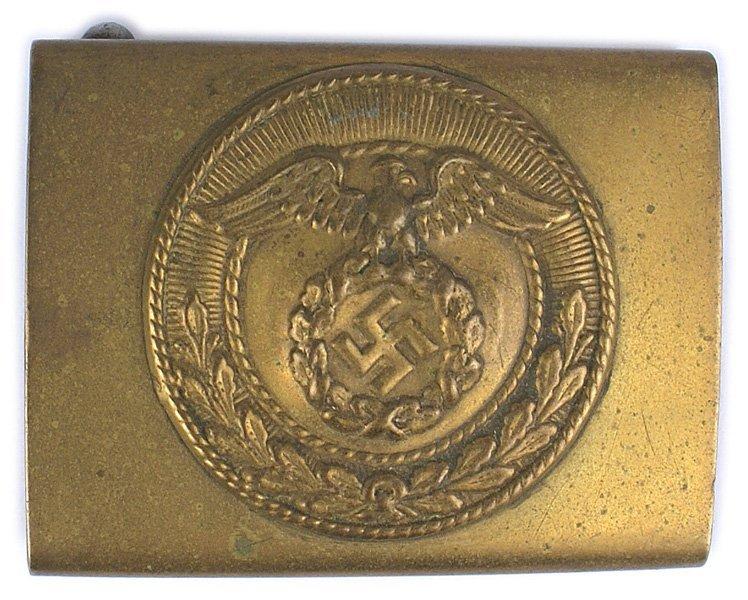 German WWII SA NSDAP belt buckle