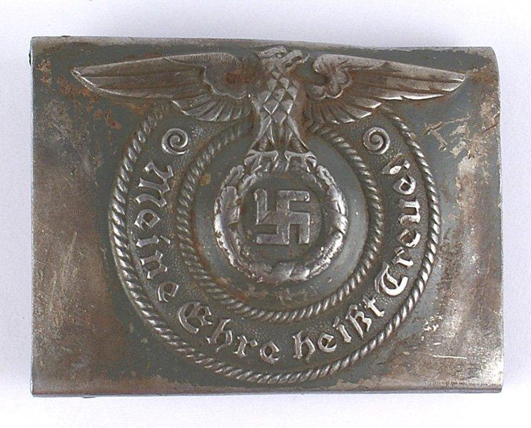 German WWII SS EM belt buckle