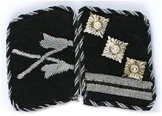 German SS Reiterstandarte collar tabs