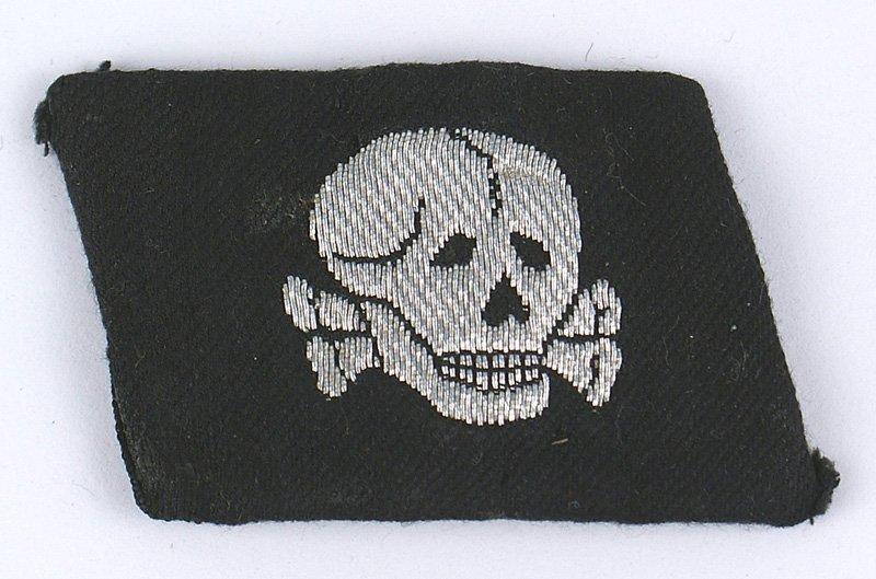 German SS Panzer Division collar tab