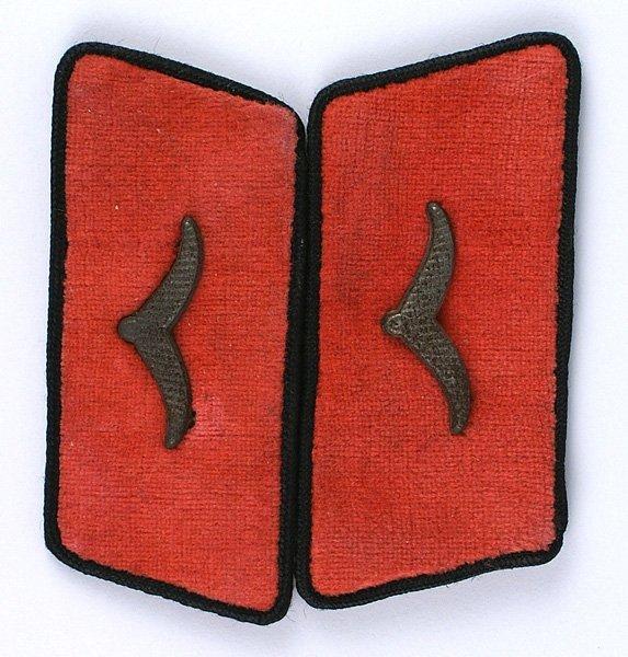 German WWII Luftwaffe Fire Police tab