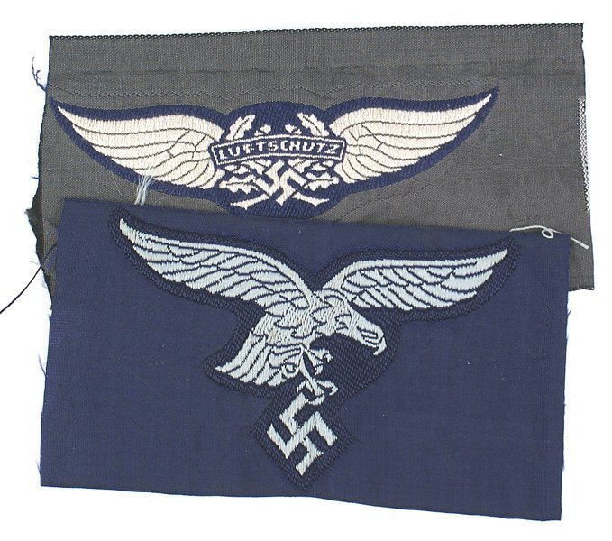 German WWII insignia lot breast eagle