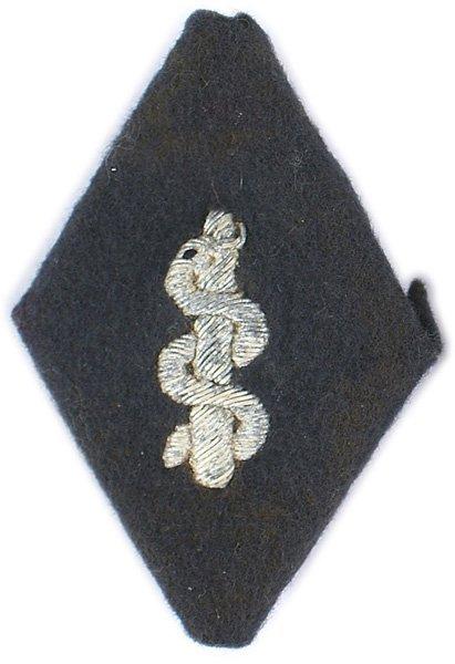 German WWII Red Cross sleeve diamond