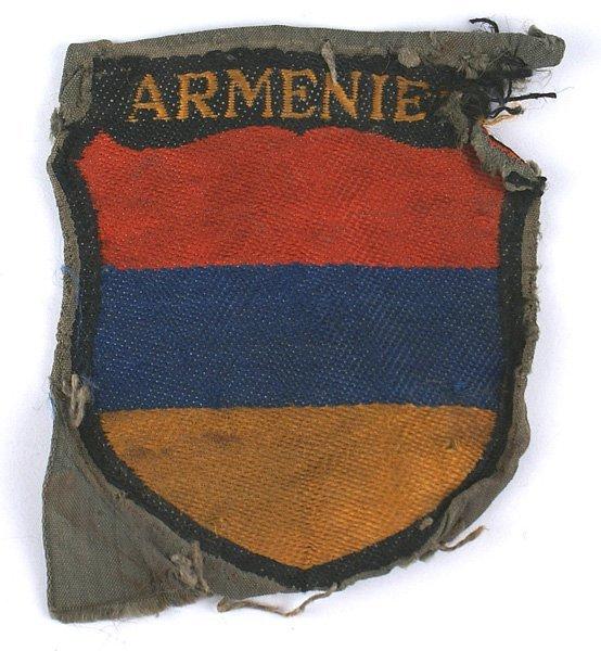 German WWII Armenien  sleeve shield