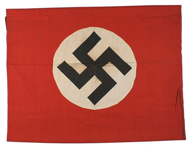 German WWII NSDAP banner flag