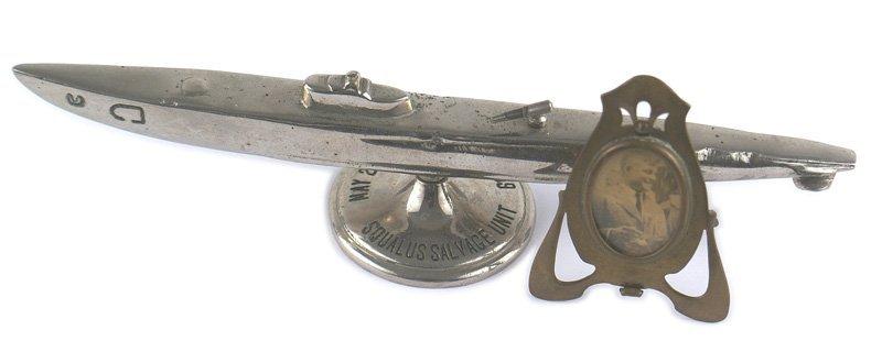 U.S. Submarine desk paperweight