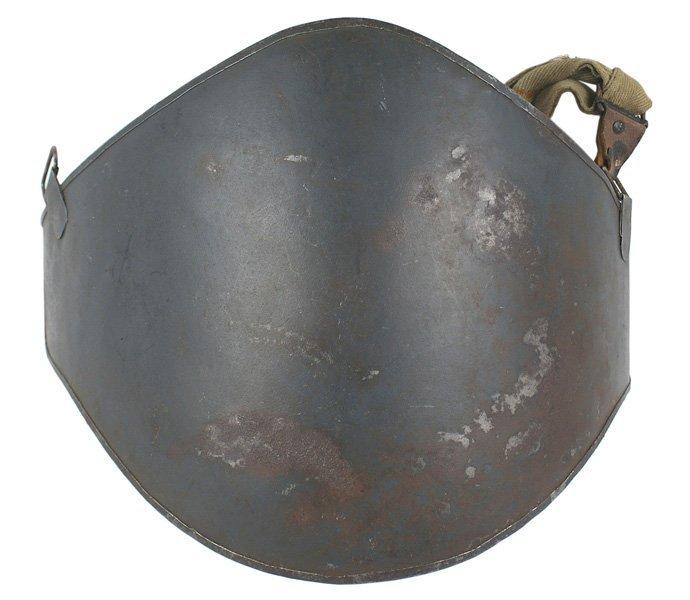 French WWI Adrian Abdominal Plate