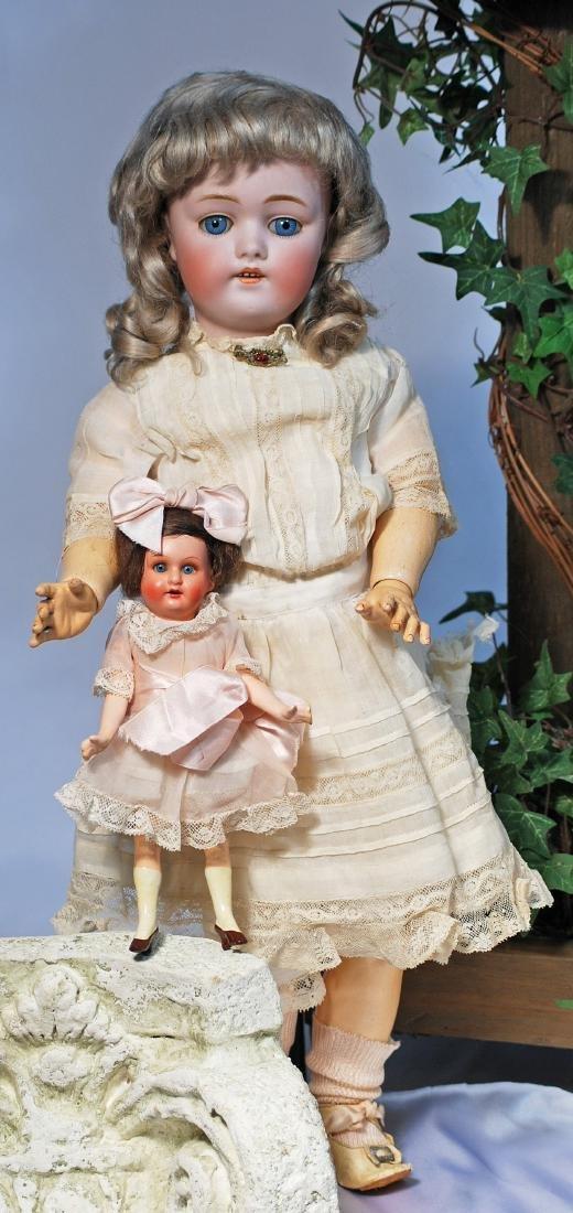 8.  PRETTY GERMAN BISQUE CHILD BY KESTNER.  Marks: