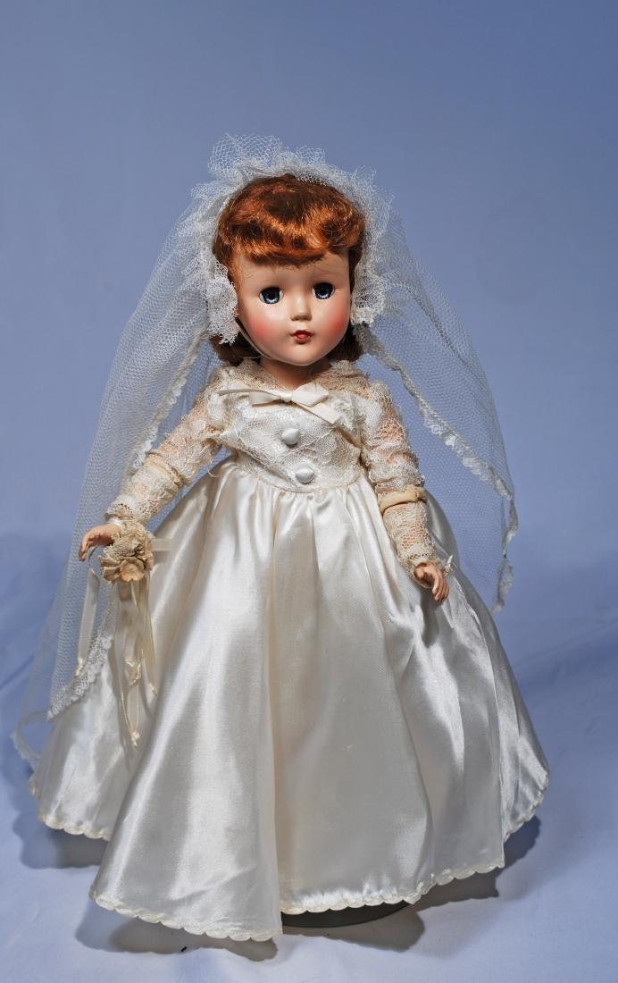 *20.  AMERICAN HARD PLASTIC BRIDE.  Marks: None.  14