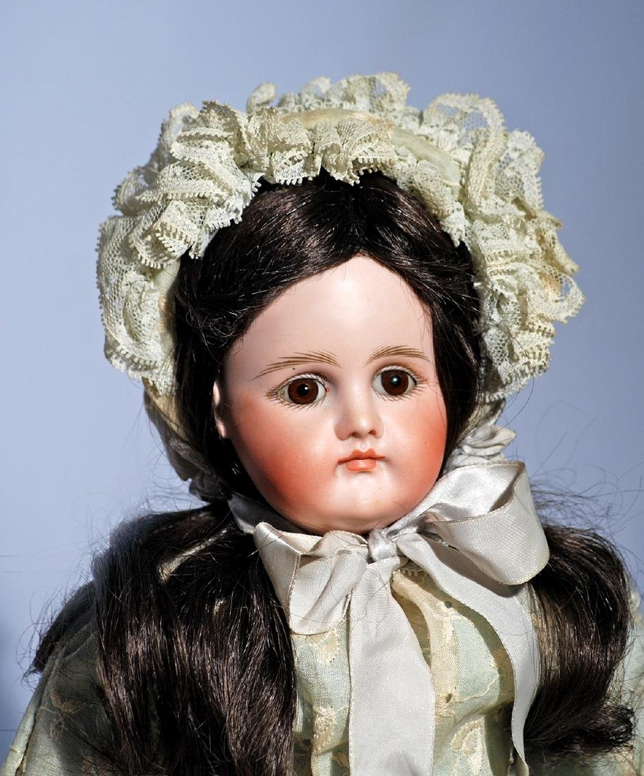 58.  GERMAN BISQUE CLOSED-MOUTH DOLL BY KESTNER.