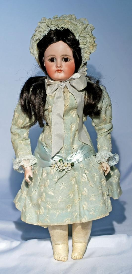 58.  GERMAN BISQUE CLOSED-MOUTH DOLL BY KESTNER. - 2