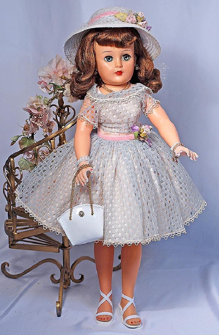 111.  IDEAL MISS REVLON IN PALE BLUE DRESS. Marks: