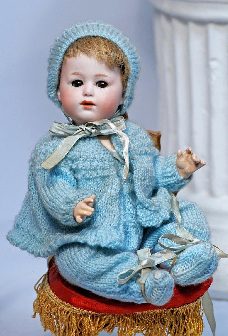 118.  RARELY-FOUND BISQUE CHARACTER BABY, 10532, BY
