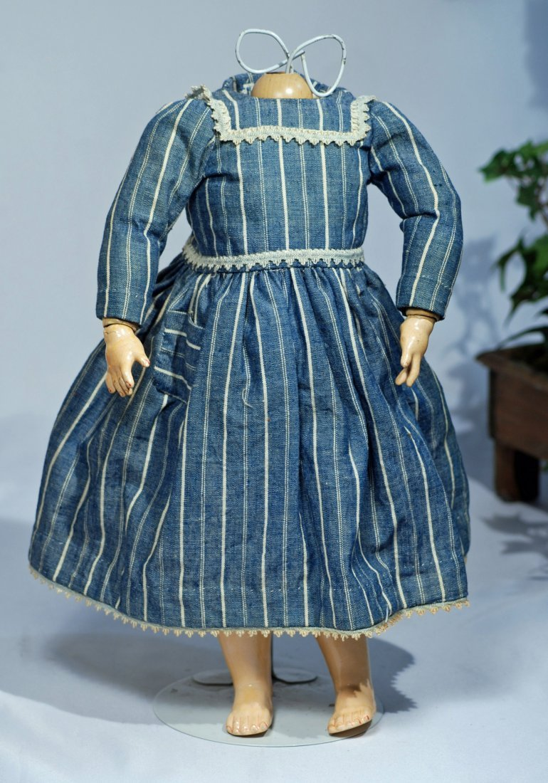 *182.  GERMAN COMPOSITION BALL-JOINTED DOLL BODY.