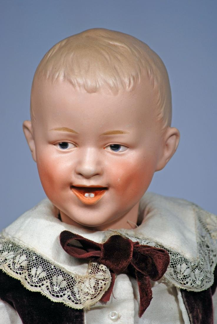"204. LARGE SIZE GEBRUDER HEUBACH ""LAUGHING CHILD"" - 2"