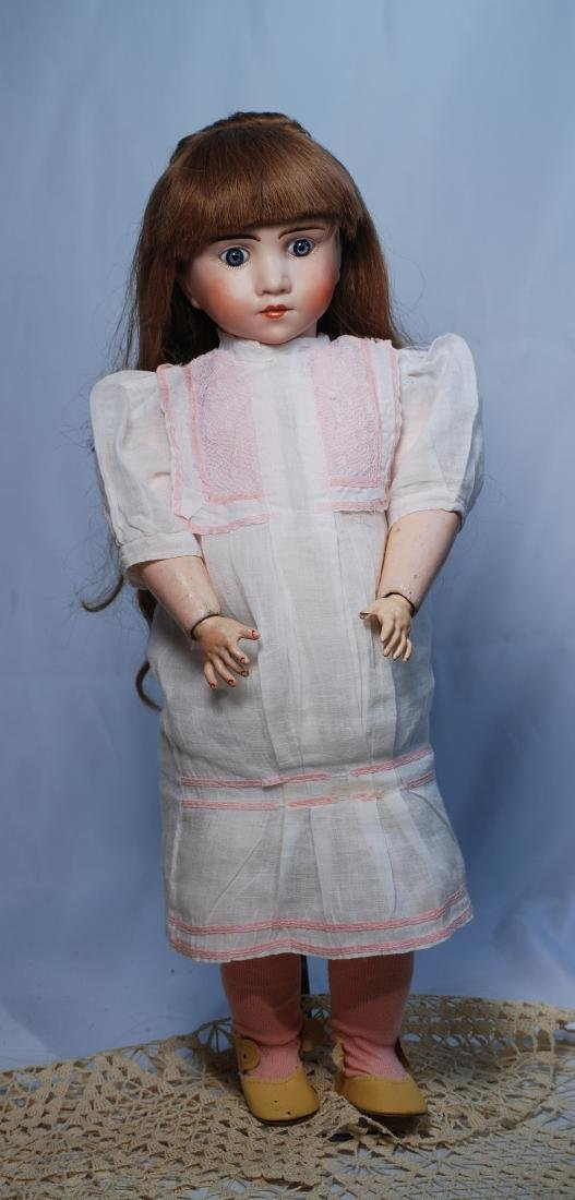 248.  FRENCH BISQUE BEBE ATTRIBUTED TO LANTERNIER.